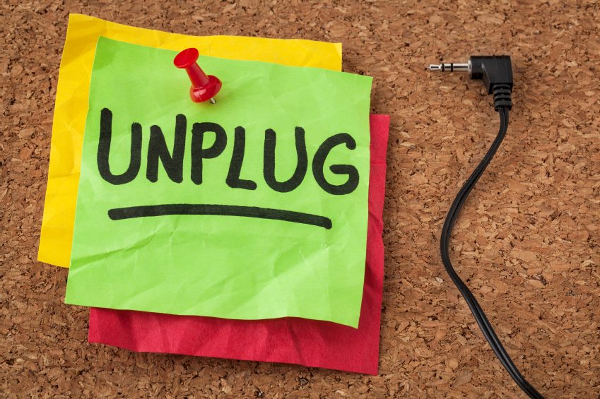 """Unplugging"" During the Holidays"