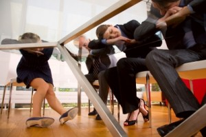 executives sleeping through meeting