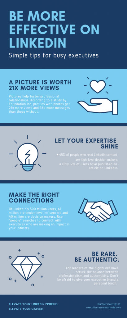 3 Ways for Executives to Boost Credibility on LinkedIn